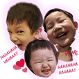 Cute children's daily --by lu