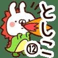 【としこ】専用12
