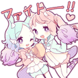 YUMEUSA girl sticker 2