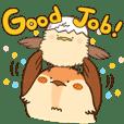 Suzuchan & Karakun cheer you on!