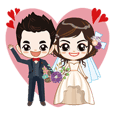 happy love marriage