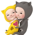 Love[CAT]Love[Animation Sticker]