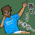 関西弁サッカースタンプ
