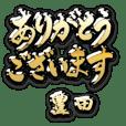 金の敬語 for「豊田」
