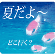 adult sticker -summer-