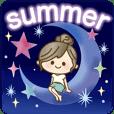 ナチュラルガール【夏の気づかい言葉】
