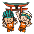 Miyajima triathlon Sticker