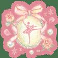 Miki Takei ballerina Sticker