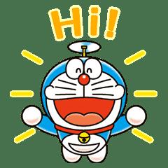 哆啦A夢 動態貼圖