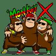 Monkey X