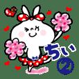 【ちぃ/チィ】2★うさぎリボン 応援パック