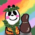 【動く】パンダンヌ de フラダンス ver.3