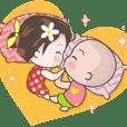 Yuka And Martin lovey-dovey