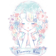 Flowery Kiss Stickers