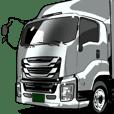 車(トラック日常3)クルマバイクシリーズ