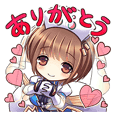 Kamihime Project Stickers