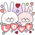 Happy to kiss! Lover rabbits -6-