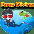 Keep Diving- scuba