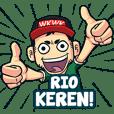 Rio Bro Gaul Name Sticker