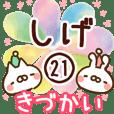 【しげ】専用21<きづかい>