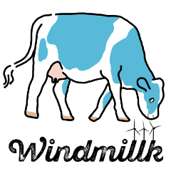 Practical use! Dairy Farmers Sticker