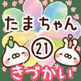 【たまちゃん】専用21<きづかい>