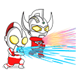 ULTRAMAN Animated Stickers