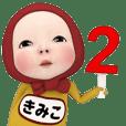 Red Towel#2 [Kimiko] Name Sticker
