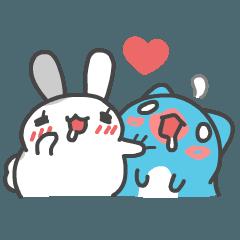 貓貓蟲咖波與兔兔 - 啾咪