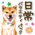 Daily life sticker (dog)