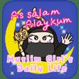 Muslim Girl's Daily Life