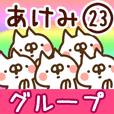 【あけみ】専用23<グループ>