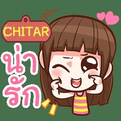 CHITAR cute girl with big eye e