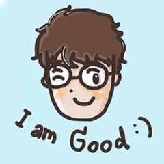 I am good :) – LINE stickers | LINE STORE