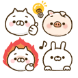 Can use everyday! Emoticon style sticker