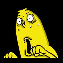 香蕉哥!不動會撞到地上3.0