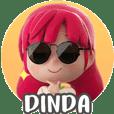 Stickernya Dinda