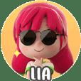 Stickernya Lia