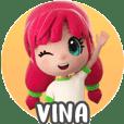 Stickernya Vina