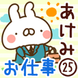 【あけみ】専用25<お仕事>