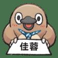 Unfriendly animals shout my name:JiaRong