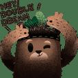 Hey! Double Dream-Leaf Bear