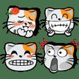 อิโมจิแมวหูส้ม