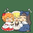 東方Project 三妖精とプリズムリバー三姉妹
