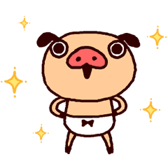 胖胖褲豬3(有聲動態版)