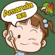 Amanda only