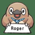 自称Roger的奇妙动物
