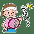 ザ・テニス女子!