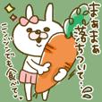 【使えるコトバ*4】うさぎのモカちゃん⑬