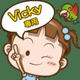 Vicky only